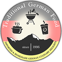 traditional german food logo